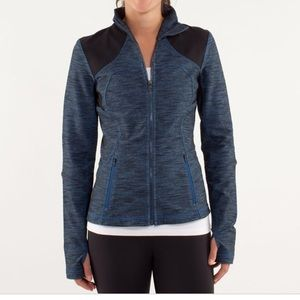 Lululemon Forme Jacket limitless blue/black 6